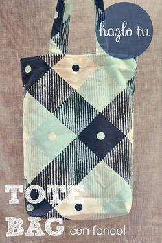 DIY: Tote Bag » Wasel Wasel Diy Tote Bag, Reusable Tote Bags, Diy Bags, Sewing Tutorials, Sewing Projects, Little Tykes, Rainy Day Crafts, Sewing Box, Fabric Bags