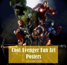 30 Cool & Creative #Avengers Fan #Art #Posters