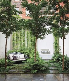 These projects show how to make the most of the limited green space outside your building.