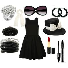 Black is THE colour for Deeps. Match it with pearls and silver accessories to create a sophisticated look.