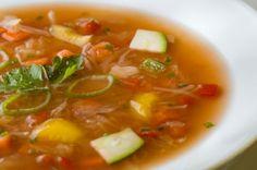 Sopa de Legumes para Emagrecer, Perder Barriga e Peso Rápido!