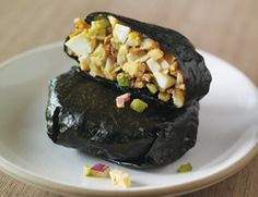 Nori, Egg, and Potato Rolls (use raw mayonnaise: http://healthyblenderrecipes.com/recipes/basic_raw_vegan_mayonnaise/)
