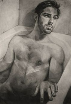 Wet Self-portrait by Just Elliot.