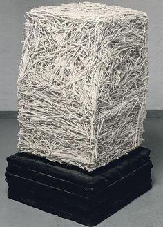 Piero Manzoni - Achrome paglia, 1933–1963