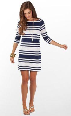 Vestido de dama. #modanautica