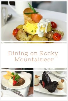 Most people don't expect to find amazing food on a Canadian Rockies train, but for Rocky Mountaineer, the gourmet food is a huge part of the journey.