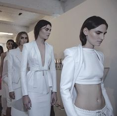 London Fashion Week. SS13. White. - Dion Lee.