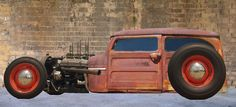 Awesome Idea...Jeep Willys Wagon Rat Rod