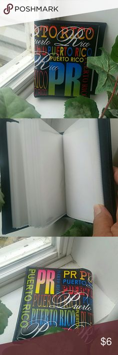 """""""Puerto Rico"""" photo album Fits 100 pictures. NWOT.  Never used. Perfect condition. Smoke and pet free home. Bundle and save! Other"""