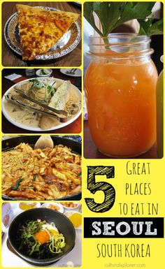 Looking for something to eat in Seoul? Check out these five great places to get in a meal!