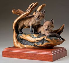 Artistry In Wood, Desiree Hajny. What a great work she has done on this pair.