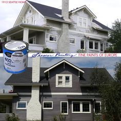 A Seattle home painted by Shearer Painting in Fine Paints of Europe Eco.
