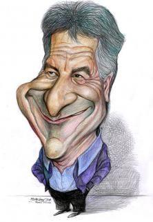 Dustin Hoffman by pismestrovic