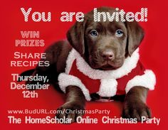 The HomeScholar Online Christmas Party - The HomeScholar Online Christmas Party is going to be SO much fun! Founders Academy is giving away enrollment in Stock Market Basics during this event. You may be the winner! Free Homeschool Curriculum, Homeschool High School, Marketing Tools, Online Marketing, Stock Market Basics, Christmas Diy, Christmas Presents, Holiday, Promotional Events