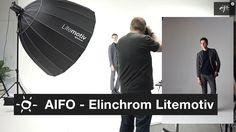 Elinchrom Litemotiv test i Elite Studio (English subtitles)