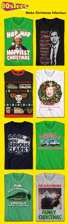 Huge Selection of Officially Licensed Christmas Vacation Shirts including  Clark s Rant T-Shirt a070094ced08