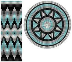 Ideas crochet bag tapestry colombia for 2019 Tapestry Crochet Patterns, Crochet Mandala, Bead Loom Patterns, Crochet Stitches Patterns, Crochet Chart, Stitch Patterns, Diy Crochet, Knitting Patterns, Loom Bands