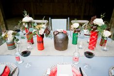 winter tablescapes - photo by Jenna Henderson