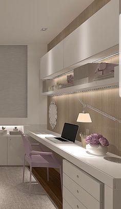 (notitle) - Decor - Home Design Small Space Interior Design, Home Room Design, Home Office Design, Home Office Decor, House Design, Home Desk, Home Office Space, Bedroom Office, Bedroom Decor