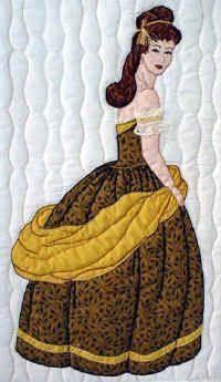 Regina Bonnet Girl Applique