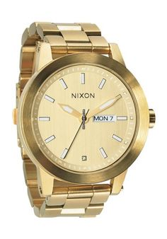 Nixon The Spur Watch, Jewelry & Accessories - Watches - All Watches - Bloomingdale's Or Rose, Rose Gold, Gold Models, Watches For Men, Nixon Watches, Woman Watches, Gold Watches, Dream Watches, Quartz Watch