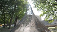 Welded Steel Wigwam by studio:indigenous Connects Past to Present at Exhibit Columbus