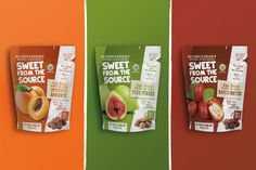 Sweet From the Source on Packaging of the World - Creative Package Design Gallery Packaging Snack, Spices Packaging, Baking Packaging, Organic Packaging, Food Packaging Design, Packaging Design Inspiration, Bottle Packaging, Food Poster Design, Food Design