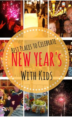 Where are the best places to celebrate New Year's with kids? Family Travel Bloggers share their all time New Year's Eve around the world.