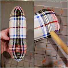 Do you love Pottery Barn's plaid fabric reindeer? Learn how to make your own! These DIY plaid fabric reindeer are just as cute at a fraction of the price! Diy Christmas Reindeer, Reindeer Craft, Christmas Sewing, Christmas Animals, Plaid Christmas, Diy Christmas Gifts, Handmade Christmas, Christmas Decor, Christmas Ideas
