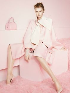 Candylike Pastel Coats to Brighten Up Fall - Paul Wetherell for T Magazine