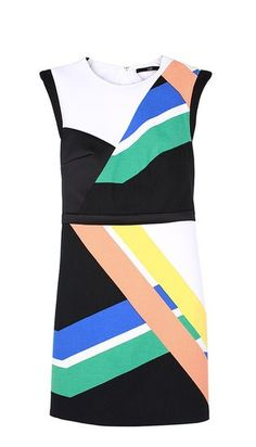 Tibi's graphic lines were inspired by NYC subway maps!