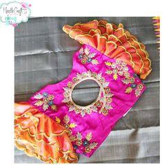 Saree Jacket Designs, Wedding Saree Blouse Designs, Silk Saree Blouse Designs, Choli Designs, Fancy Blouse Designs, Sleeve Designs, Baby Frock Pattern, Stylish Blouse Design, Designer Blouse Patterns