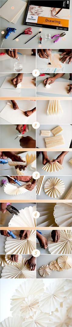 Bodas Cucas: DIY: Decoracion con molinetes de papel
