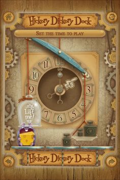 Hickory Dickory Dock - Telling Time