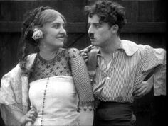 Edna Purviance and Charlie Chaplin Edna Purviance, Burlesque Movie, Charles Spencer Chaplin, Silent Film, Old Movies, Old Hollywood, Movie Stars, Actors & Actresses, Documentaries