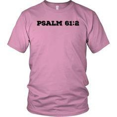 """Psalm 61:2"" -Black Font"