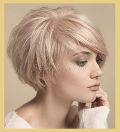 """Short Cropped Hairstyles for Fine Hair [ """"Layered Bob Haircuts 2015 - 2016 Bob Hairstyles 2015 - Short Hairstyles for Women"""", """"Looking for a new fresh bob hairstyles? Here we have rounded Layered Bob Haircuts 2015 - 2016 for you to get inspirational ideas Blonde Bob Hairstyles, Layered Bob Hairstyles, Haircuts For Fine Hair, Cool Hairstyles, Pixie Haircuts, Curly Hairstyle, Medium Hairstyles, Hairstyle Ideas, Short Hairstyles Fine"""
