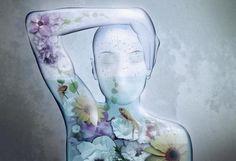 Human Aquarium Illustration Photoshop Tutorial - icanbecreative