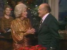 "Bob and Dolores Hope sing ""Silver Bells"" on 1993 Christmas special"