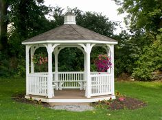 gazebos with built in benches - Google Search