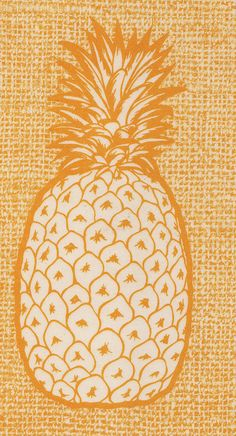 Pineapple - the backside of an Hawaiian place mat. Pineapple Art, Textiles, Fruit Art, Pattern Illustration, Color Of Life, Mellow Yellow, Artsy Fartsy, Decoration, Just In Case