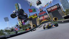 Trackmania Turbo Update Adds 40 PlayStation VR Supported tracks, support, and Supersampling Jeux Xbox One, Xbox One Games, Playstation, Evolution, State Of Play, High Resolution Wallpapers, Windows Server, Single Player, Mario Kart