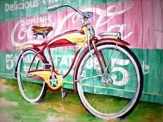 Vintage Bicycle Art