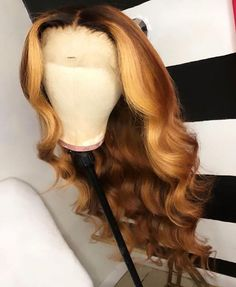 hairstyles - FPC Long Body Wave 613 Lace Front Wig Glueless Ombre Blonde Wig With Baby Hair Brazilian Remy Human Hair Wigs For Women Wig Styles, Curly Hair Styles, Natural Hair Styles, Blond Ombre, Blonde Wig, Blonde Lace Front Wigs, Ombre Brown, Frontal Hairstyles, Wig Hairstyles