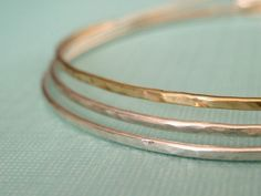 I love bangles! They're part of my every day wardrobe. I need some of these - so chic!
