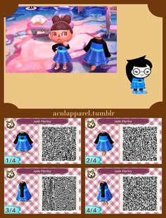 1558 best Animal Crossing images on Pinterest | New leaf, Happy home Qr Code Animalcrossing Happy Home Designer Clothing Html on