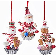 Kurt Adler GINGERBREAD MAN ORNAMENT 3A ** Check out the image by visiting the link. (This is an affiliate link) #HomeDcorAccents