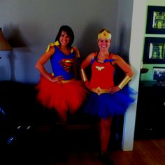 DIY super hero costumes! Girly costumes for photo shoot?