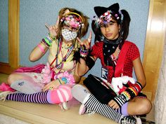harajuku kawaii, decora girl, art, decora kei, bangs, japanes fashion, accessories, fairi kei, leopard prints