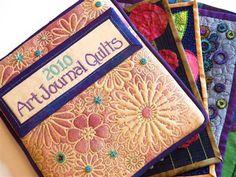 Art Journal Quilts Cover - Media - Cloth Paper Scissors